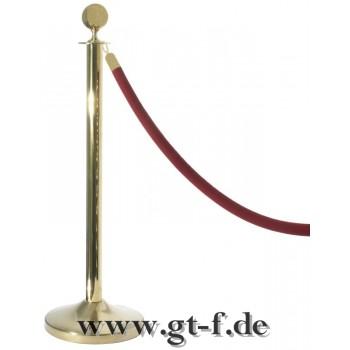 Abgrenzungsseil, gold, 150 cm