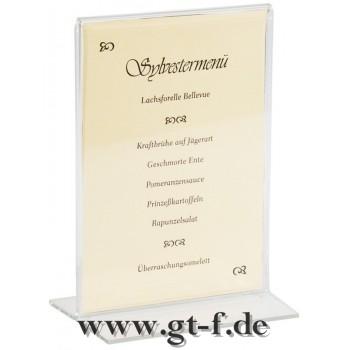 Acryl Kartenhalter 15x10cm A6