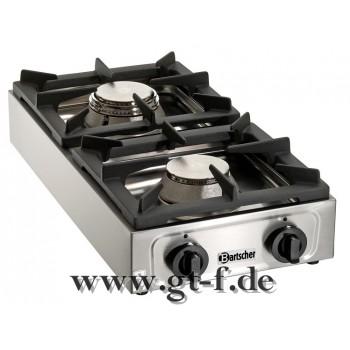 2-Flammen Gas-Tischkocher