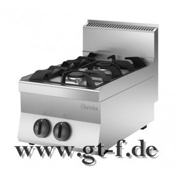 2 Flammen Gasherd Serie 650