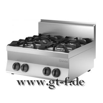 4 Flammen Gasherd Serie 650