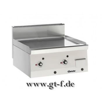 Gas-Griddleplatte glatt Serie 600