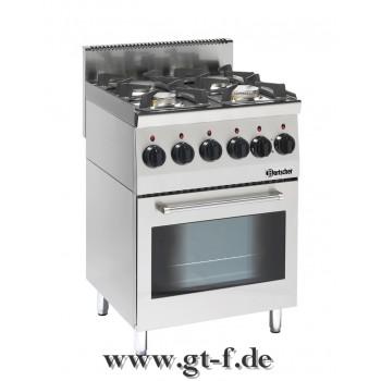 4 Flammen Gasherd Serie 600