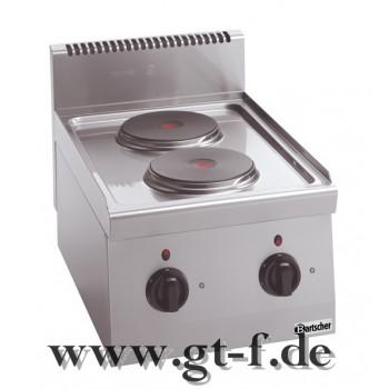 2 Platten Elektroherd Serie 600