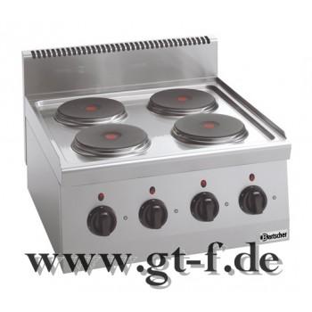 4 Platten Elektroherd Serie 600
