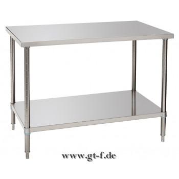 Arbeitstisch mit Bodenbord