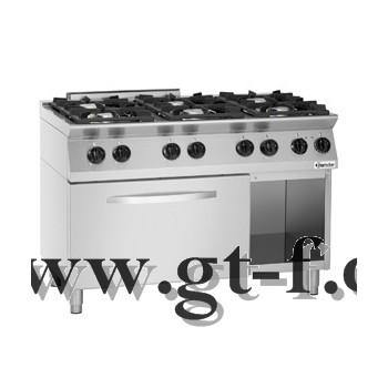 6 Flammen Gasherd MFG 7360